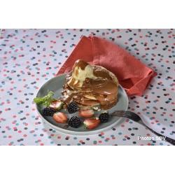 Pancakes au duche de leche ( confiture de lait)