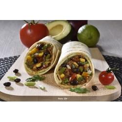 Burrito végétal