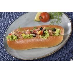 Hot dog saumon