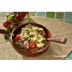 Salade pomme de terre, jambon et moutarde French's