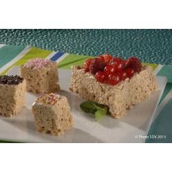 Rice krispies Fluff/Carambar