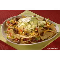 Nachos cheese and beef