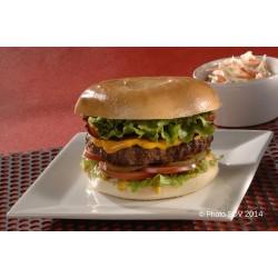 Bagel façon burger