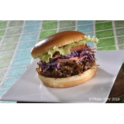Burger Effiloché boeuf Coleslaw