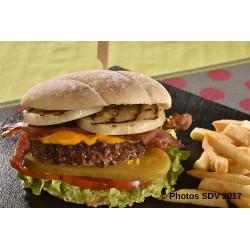 Burger bap premium classic cheddar