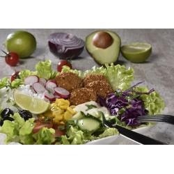 Falafels en salade