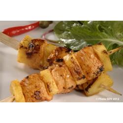 Brochette de poulet axiote