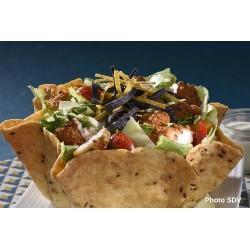 Taco salad caesar crispy chicken
