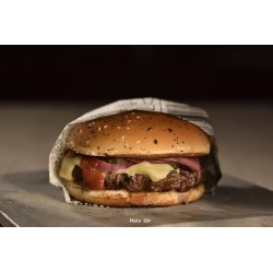 Burger gourmet cheddar vintage pastrami