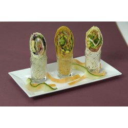 Wraps pastrami - Tortilla tomate