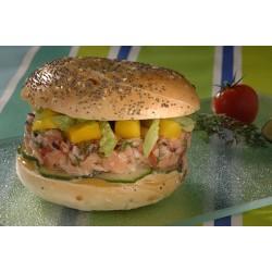 Bagel spécial tartare de saumon