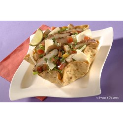 Taco salad caesar poulet tex