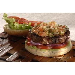 Burger bap angus guacamole