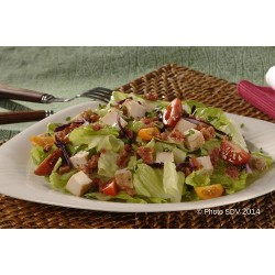 Salade bacon, poulet