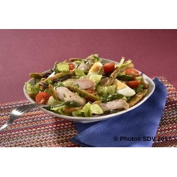 Chicks & Green bean salad