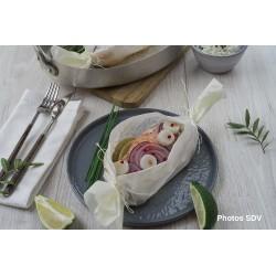 Papillottes de saumon Redhot Lime pour 2 personnes