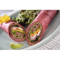 Wraps betterave pastrami