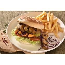 Burger tigre steak veggie et cheddar