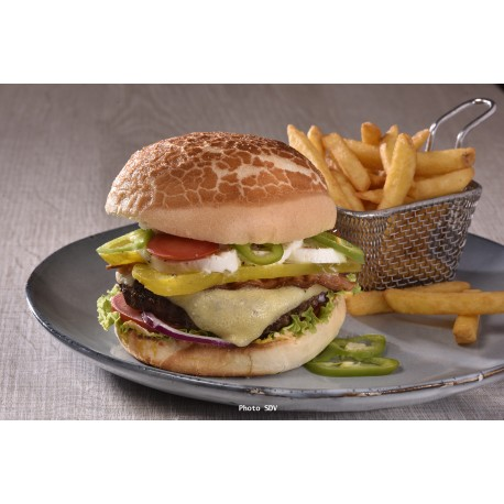 Tiger jalapeno burger