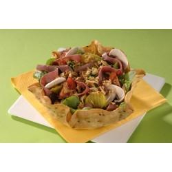 Taco salad au pastrami