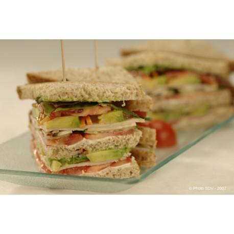 Club sandwich jambon/avocat