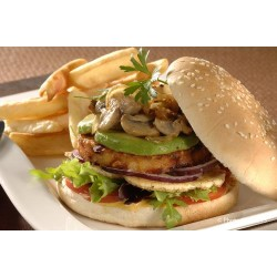 Burger aux légumes