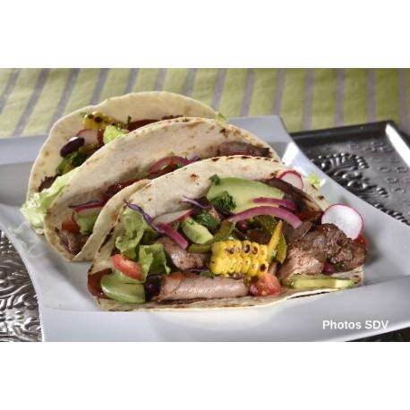 Tacos con Brisket