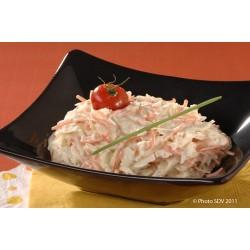 Préparation de base pour salade coleslaw