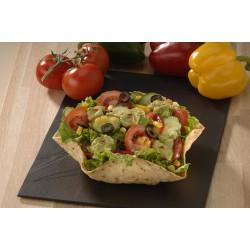 Taco salad végétarien