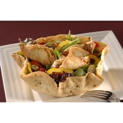 Taco salad croustillant fajitas