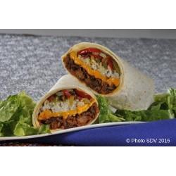 Burrito pulled pork
