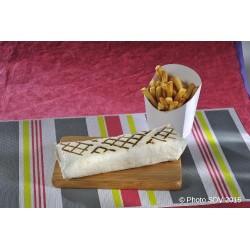 Burrito façon panini