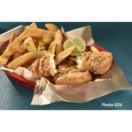 Cabillaud façon fish&chips