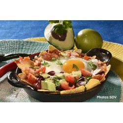 Chilaquiles oeuf