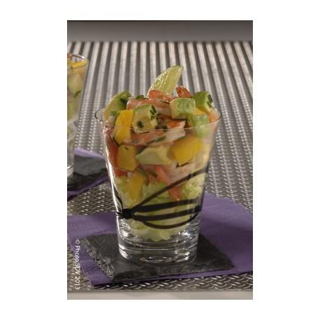 Cup salad avocat et mangue