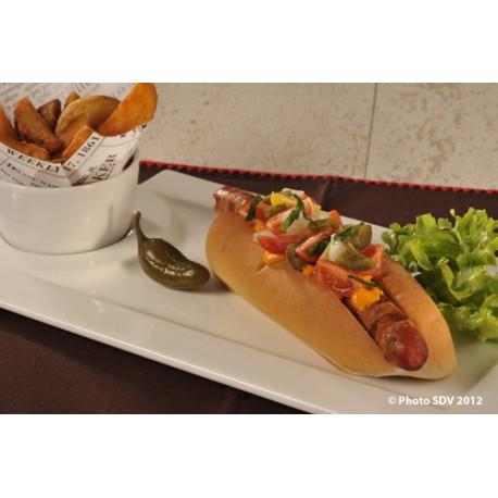 Cayenne hot dog RedHot