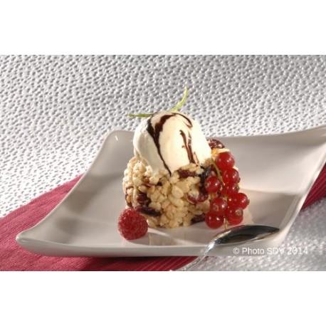 Krispies cake aux abricots et cranberries