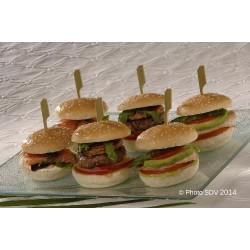 Mini burger festifs