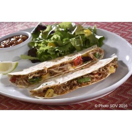 Quesadilla au poulet Mex