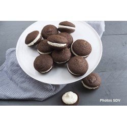 Chocolate & Fluff whoopies pie