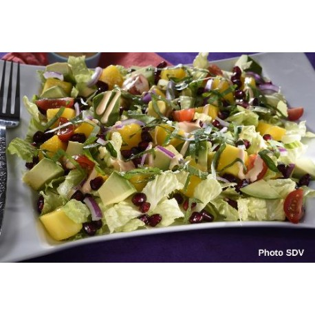 Salade mango avocat
