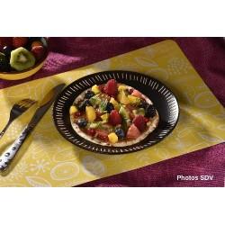 Toastadas de frutas