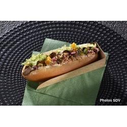 Hot dog brisket