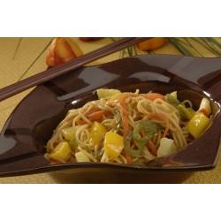 Nouilles aux légumes et à l'ananas
