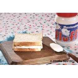 Fluffernutter sandwich