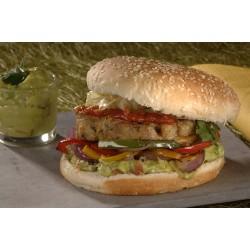 Burger fajitas