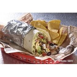 Burrito poulet Mex