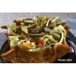 Taco salad Poulet haricots cajun