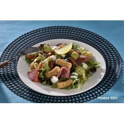 Salade mini mozza jambon cru