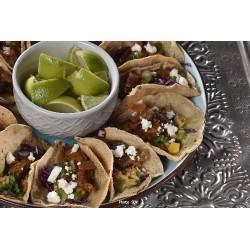 Chicken tacos à partager